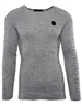 Dashing Grey Men's Fashion Sweater