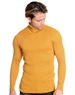 European Fashion Turtleneck Sweater - Mustard