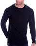 European Fashion Lightweight Knitwear Sweater - navy