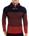 European Fashion Lightweight Knitwear Sweater - Brick Burgundy