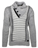 Designer European Sweater In Gray
