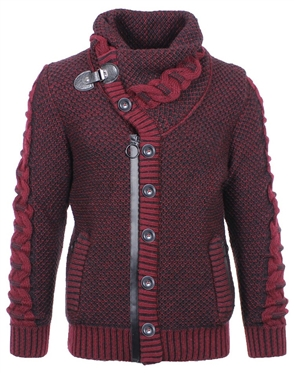 Trendsetting Burgundy Sweater