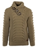 Designer Burnt Beige Men's Sweater