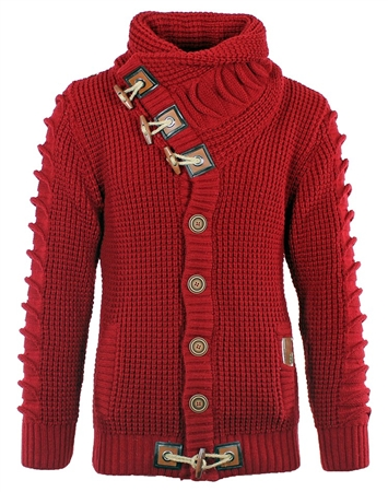 Hot Red Luxury Men's Sweater