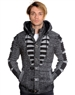 Black and White Designer Men's Sweater