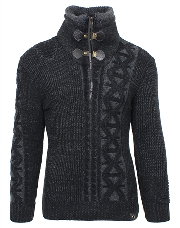 Black Men's Fashion Sweater