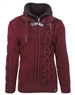 Burgundy Men's Fashion Sweater