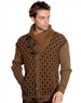 Luxe Designer Camel Brown Sweater