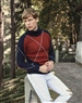 European Luxury Turtleneck Sweater in Navy