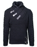 Fashionable Black Men's Sweater