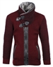 Burgundy Designer Men's Sweater
