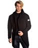 Modern Men's Fashion Coat Black