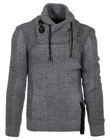 Designer Grey Men's Sweater