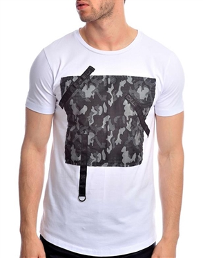 Trendy White T-Shirt
