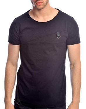 Sporty Black T-Shirt