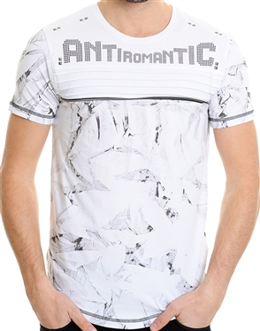 LCR ANTI Romantic T-Shirt | White Designer Shirt