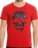 Fashionable Men's T-Shirt - Craneo Red
