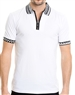 Fashionable Men's Polo - Astro White