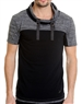 Fashion-Forward Men's T-Shirt - Kai Black