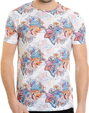 Fashionable Men's T-Shirt - Colton Multi