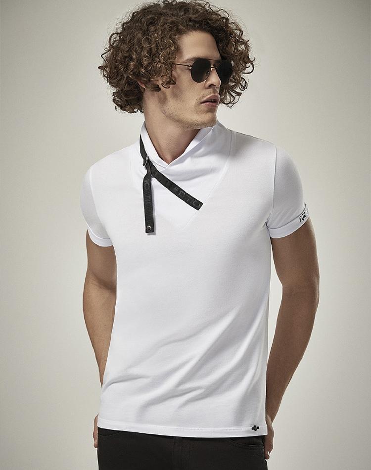 dc337f501af Modern Fashion Shirt - Stylish White T-Shirt