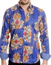 Royal Cocktail Pattern Shirt - Men Casual Shirt
