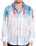 Multi Lined Pattern Shirt - Men Casual Shirt