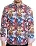 Floral Pattern Multi Shirt - Men Casual Shirt
