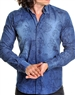 Fashionable Navy Denim Shirt