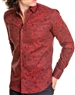 Men Burgundy Fashion Shirt