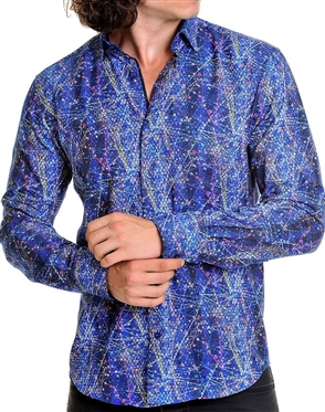 Abstract Casual Shirt- Shop Men