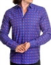 Hot Purple designer mens dress shirt