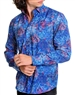 Shopmen- Blue Stylish Shirt | Next Level Couture