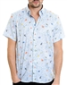 Multi Paradise Floral Print Shirt - Men Casual Shirt