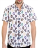 Multi Skull Pattern Shirt - Men Casual Shirt