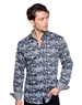 Unique Abstract Print Dress Shirt - European Fashion Shirt