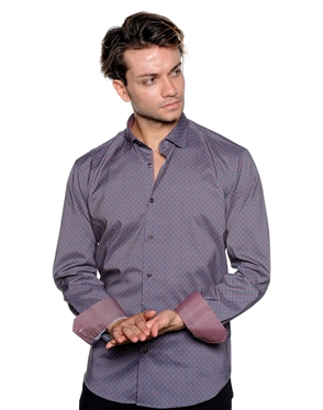 Elegant Black Shirt- Men Casual Shirt