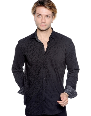 Fresh Pattern Shirt - Men Casual Shirt