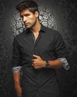 Black fashion Shirt