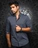 Designer Dress Shirt: Nuevelo Black