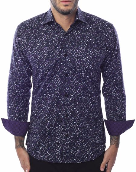 Purple Fashion Shirt