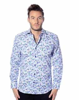 Luxury Blue Sport Shirt