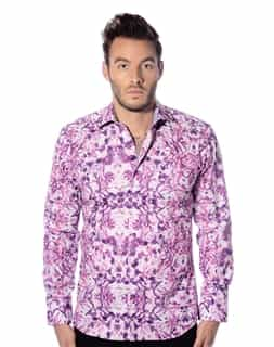 Designer Purple Dress Shirt
