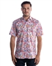 Trendy Short Sleeve Woven - Dreamy Purple Dress Shirt