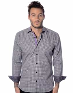 Black White Checker Shirt