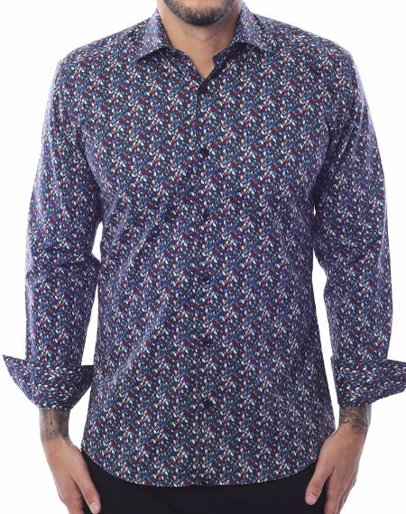 Shop Men Fashion Shirt - Turquoise