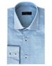 Men's Fashion Shirt - Blue And White Button Down
