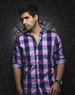 Fuchsia Navy Check  Dress Shirt