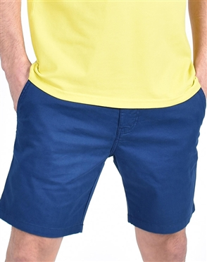 Navy Slim Fit Chino Shorts|Eight-x Luxury Chino Shorts