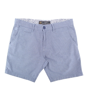 Grey Slim Fit Textured Shorts|Eight-x Luxury Slim Fit Shorts